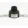 """Picture of CAMLOCK 150B: 1-1/2"""" POLY FITTING PART B"""