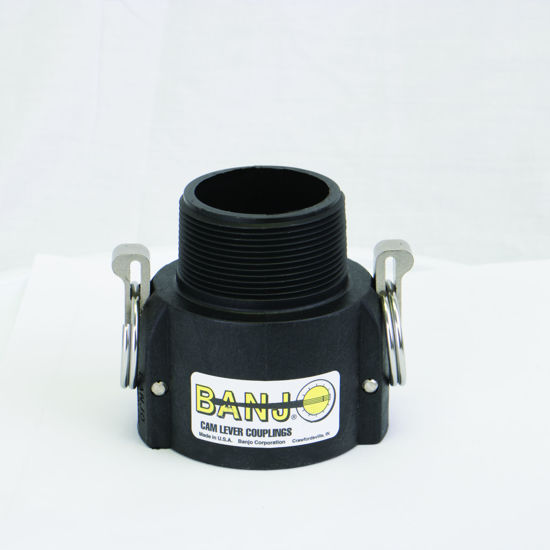 "Picture of CAMLOCK 200B: 2"" POLY FITTING PART B"