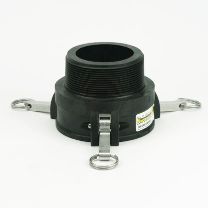 "Picture of CAMLOCK 400B: 4"" POLY FITTING PART B"