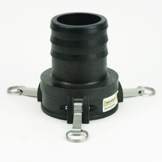 """Picture of CAMLOCK 400C: 4"""" POLY FITTING PART C"""