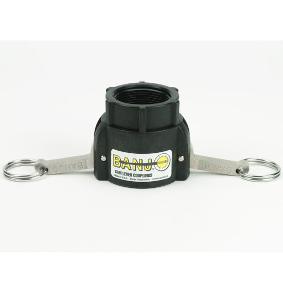 "Picture of CAMLOCK 150D: 1-1/2"" POLY FITTING PART D"