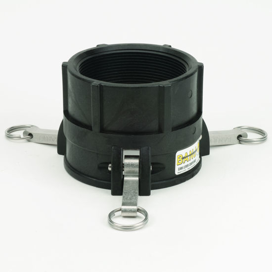 "Picture of CAMLOCK 400D: 4"" POLY FITTING PART D"