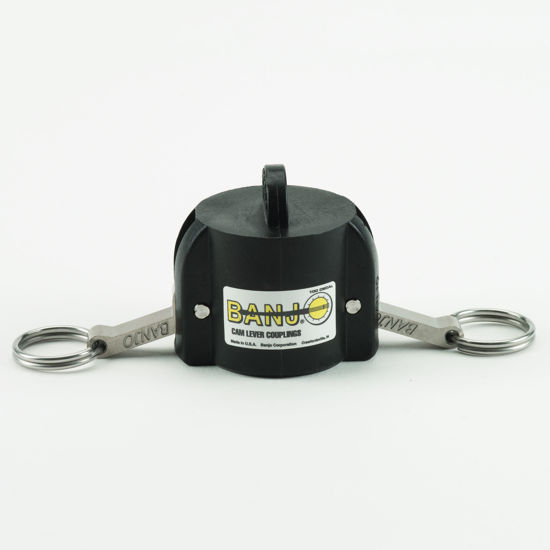 "Picture of CAMLOCK 100DC: 1"" POLY FITTING DUST CAP"