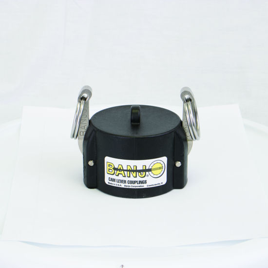 """Picture of CAMLOCK 200DC: 2"""" POLY FITTING DUST CAP"""