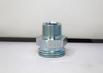 """Picture of ACME A532: 1-1/4"""" MALE PIPE THREAD x 2-1/4"""" ACME"""