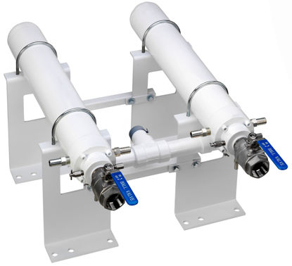 Picture of NH3 ASF3000BD: DUAL WELDED UNIT HORIZONTAL MOUNT, HEAT EXCHANGER AND BRACKET ONLY