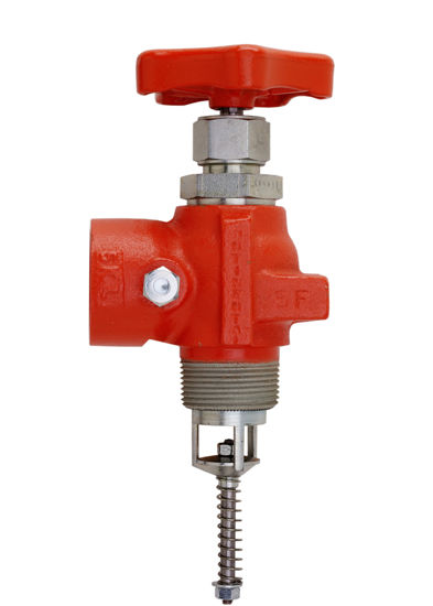 "Picture of VALVE CONTINENTAL A1206F: 1-1/4"" OUTLET"