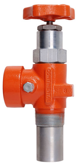 """Picture of VALVE CONTINENTAL A1508FR: RISER VALVE 1-1/2"""" INLET x 1-1/4"""" OUTLET 95 GPM"""