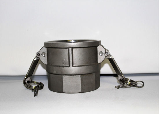"""Picture of CAMLOCK 400D: 4"""" STAINLESS STEEL FITTING PART D"""