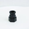 """Picture of CAMLOCK 075: 3/4"""" POLY FITTING PART A"""