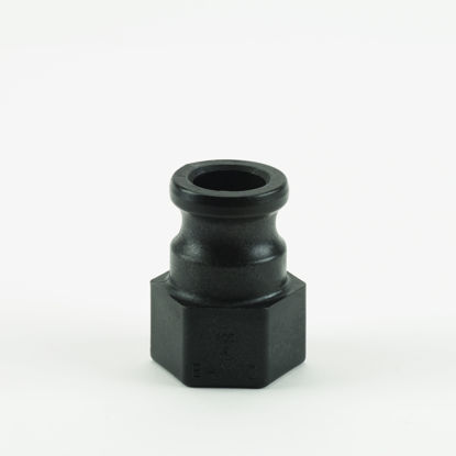 "Picture of CAMLOCK 100A: 1"" POLY FITTING PART A"