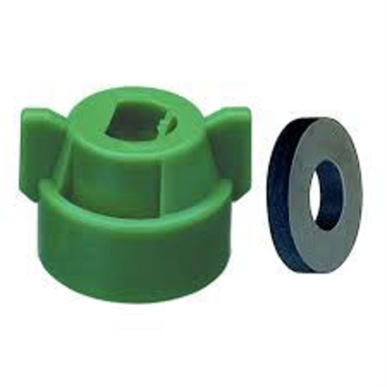 Picture of NOZZLE CAP CP114441-5 GREEN CAP OLD 25612