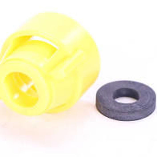 Picture of NOZZLE CAP CP114441-6 YELLOW CAP OLD 25612