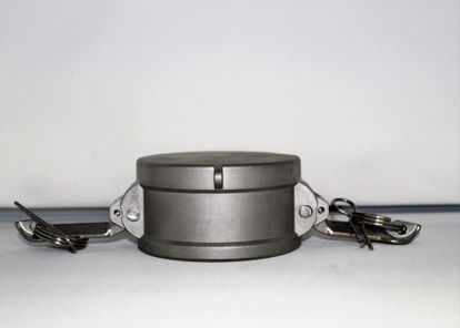 """Picture of CAMLOCK 100DC: 1"""" STAINLESS STEEL FITTING DUST CAP"""