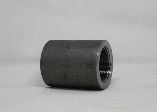 """Picture of FORGED STEEL COUPLING 1-1/4"""""""