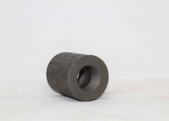 """Picture of FORGED STEEL REDUCING COUPLING 3/4"""" X 1/2"""""""