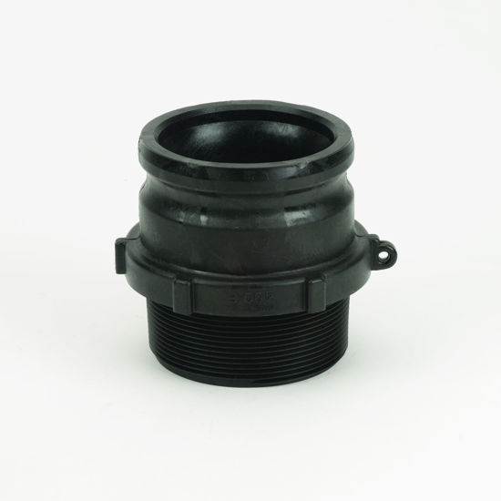 "Picture of CAMLOCK 400F: 4"" POLY FITTING PART F"