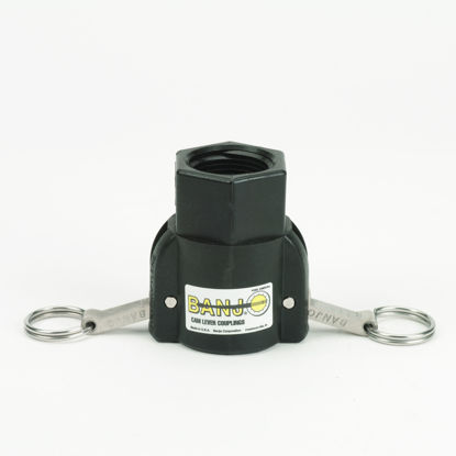 """Picture of CAMLOCK 100D: 1"""" POLY FITTING PART D"""