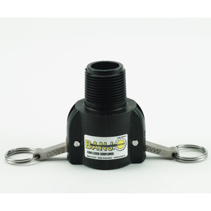 """Picture of CAMLOCK 100B: 1"""" POLY FITTING PART B"""