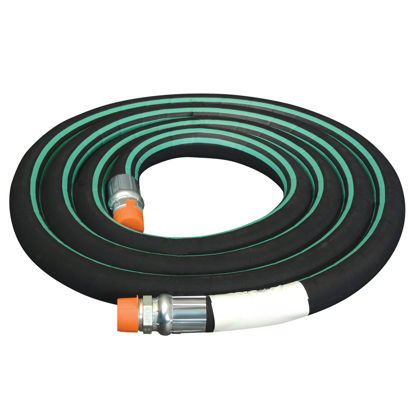 """Picture of HOSE NH3 1-1/4"""" x 8' NYLON BRAID ANHYDROUS AMMONIA"""