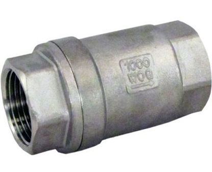 """Picture of VALVE CHECK 3/8"""" STAINLESS STEEL"""