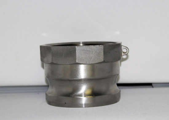 """Picture of CAMLOCK 400A: 4"""" STAINLESS STEEL FITTING PART A"""