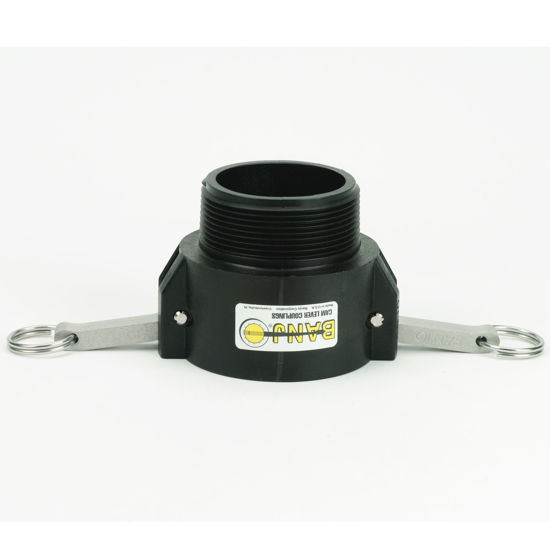 """Picture of CAMLOCK 300B: 3"""" POLY FITTING PART B"""
