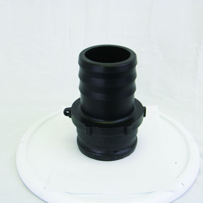 """Picture of CAMLOCK 400E: 4"""" POLY FITTING PART E"""
